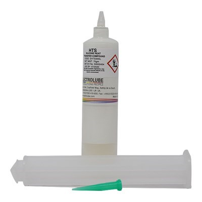Electrolube HTS Heat Transfer Compound 35ml Luer Lock Syringe