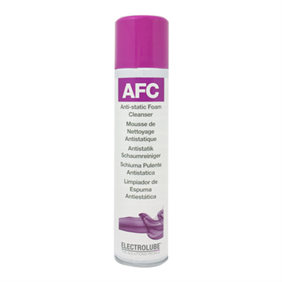 Electrolube Afc Antistatic Foam Cleaner in various sizes