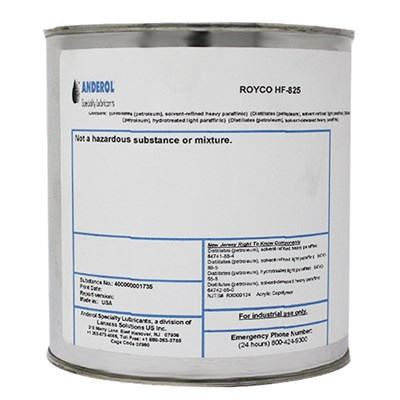 Royco HF-825 O-Ring Lubricant 1.75Lb Tin