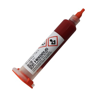 Heraeus PD860002 SPA Thermosetting Polymer SMT Adhesive 10cc Trw Cartridge No.2