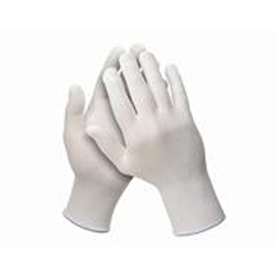 Jackson Safety G35 Nylon Low Lint Gloves White Size 9 L (Pack Of 12)
