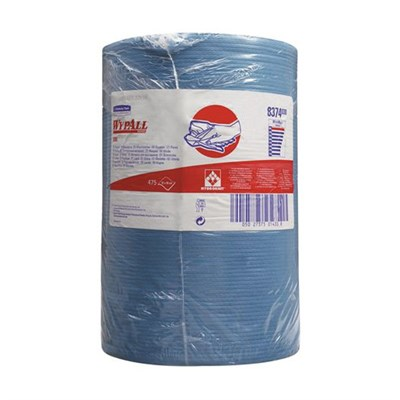 Kimberly Clark 8374 Wypall X80 Cloths Blue 42cm x 38cm 475 Sheet Roll