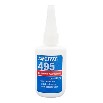 Loctite 495 Cyanoacrylate Adhesive 50gm Bottle (Fridge Storage 2°C-8°C)
