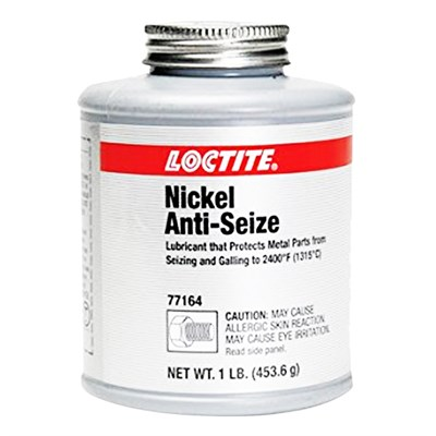 Loctite LB 771 Nickel Grade Anti Seize 1Lb Brush Top Plastic Jar