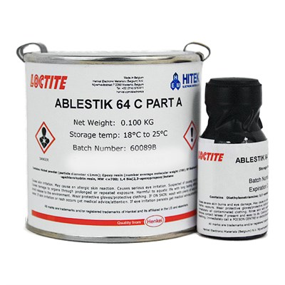 Loctite Ablestik 64C Non-Silver Filled Epoxy Adhesive 105gm A/B Kit (was Eccobond)