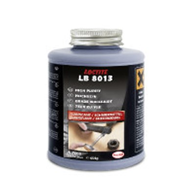 Loctite LB 8013 High Purity Anti-Seize (Metal Free) 454gm Brush Top Can