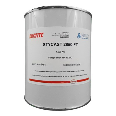 Loctite Stycast 2850FT Black with Catalyst 24LV 1Kg Kit