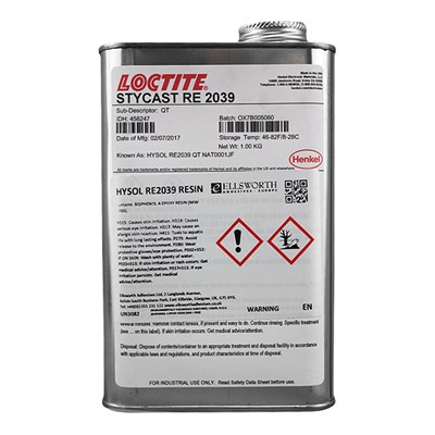 Loctite Stycast RE 2039 Epoxy Casting Resin 1USQ Can (was Hysol)