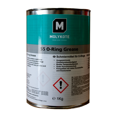 MOLYKOTE™ 55 O-Ring Lubricant 1Kg Can