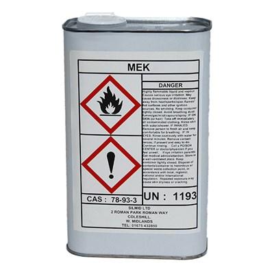 MEK (Methyl Ethyl Ketone) 1Lt Can *BS1940