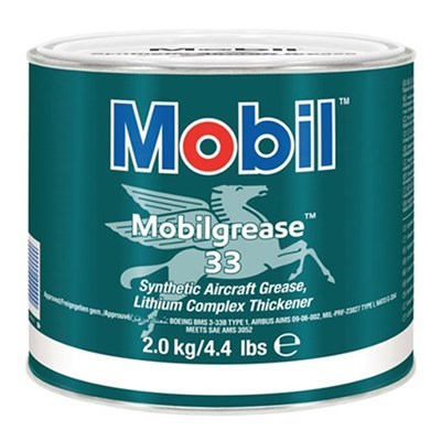 Mobil Grease 33 available in various sizes