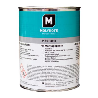 MOLYKOTE™ P74 PTFE Super Anti-Seize Grease 1Kg Can