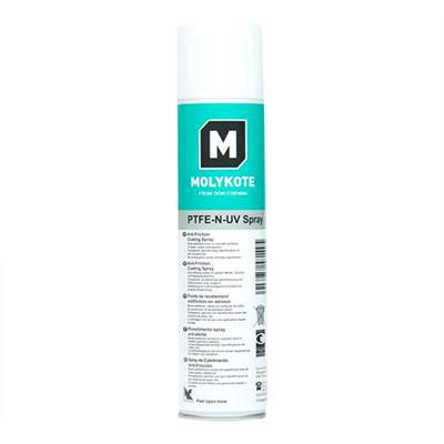 MOLYKOTE PTFE-N UV Anti-Friction Coating 400ml Aerosol