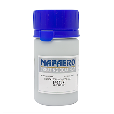 Mapaero F69 S/G (RAL 9004) Black Epoxy Coating 45ml Touch Up Kit (Meets AIPI 05-05-003)