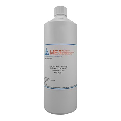 Metaletch Me5 Electrolyte 1Lt Bottle