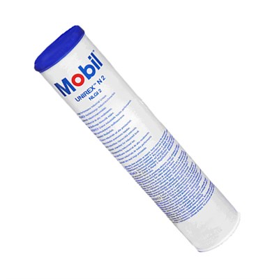 Mobil Unirex N 2 High Temperature Bearing Grease 400gm Cartridge
