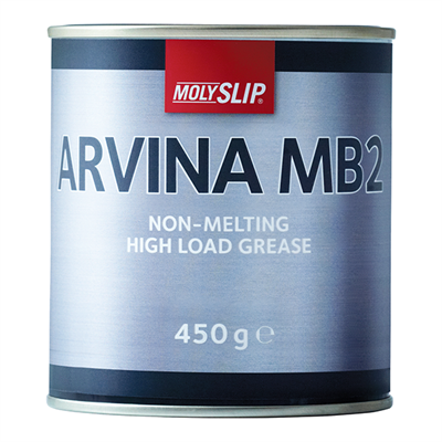 Molyslip Arvina MB2 Grease 450gm Tin