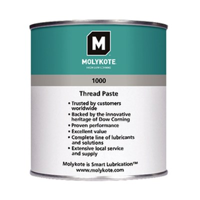 "MOLYKOTEâ""¢ 1000 Solid Lubricant Paste availabe in various sizes"