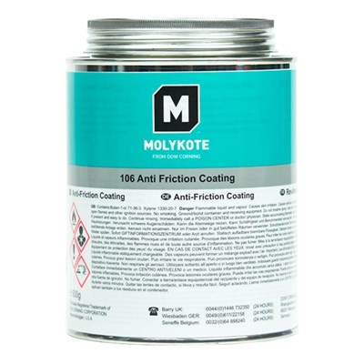 MOLYKOTE™ 106 Bonded Anti-Friction Coating 500gm Can