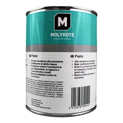 MOLYKOTE™ HSC Plus Solid Lubricant Paste 1Kg Tin