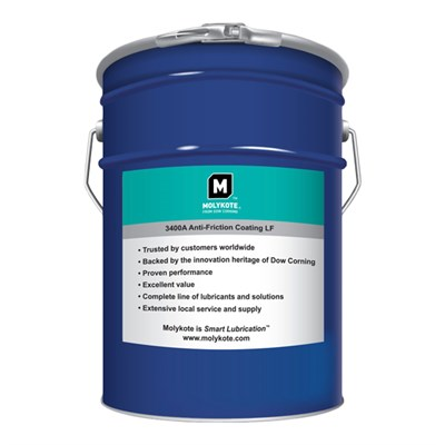 "MOLYKOTEâ""¢ 3400A Anti Friction Coating (Lead Free) 5Kg Can"