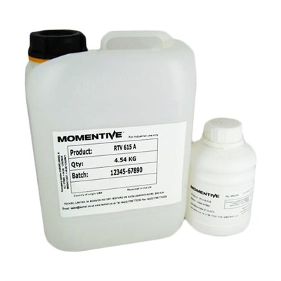 Momentive RTV 615 Clear FDA Potting Silicone A/B 11Lb (Part A 10Lb/Part B 1Lb) Kit