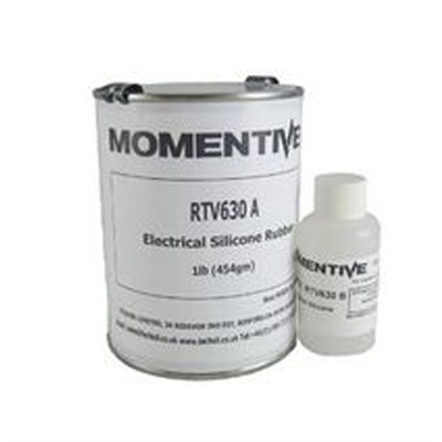 Momentive RTV 630 High Strength Silicone Rubber Compound Blue 1.1Lb (Part A 1Lb/Part B 0.1Lb) 10:1 A/B Kit