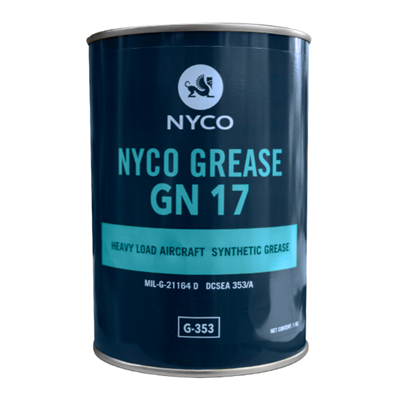 Nyco Grease GN 17 1Kg Can MIL-G-21164 D / G-353