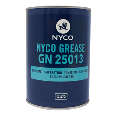 Nyco GN 25013 Extreme Temp Silicone Grease 1Kg *MIL-G-25013 E (G-372)