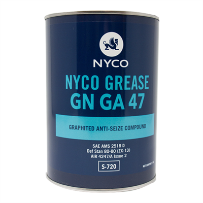 Nyco Grease GN GA 47 1Kg Can *AIR 4247A Issue 2