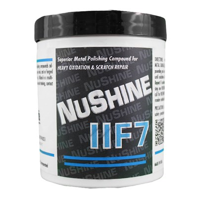 Nuvite Nushine II Grade F7 Metal Polish 1Lb Tub