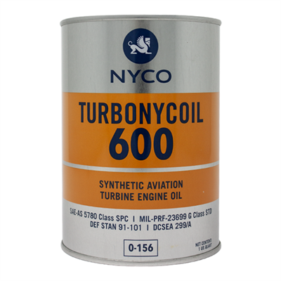 Nyco Turbonycoil 600 1USQ Can *SAE-AS 5780-SPC