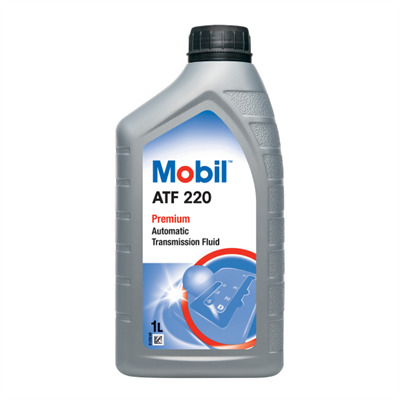 Mobil ATF 220 Automatic Transmission Fluid 1Lt Can