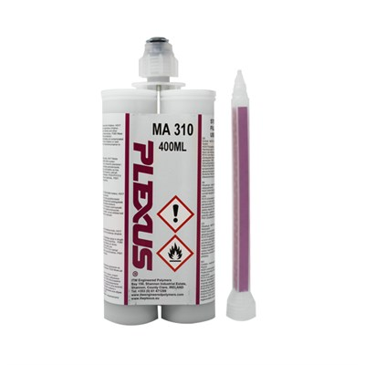 Plexus MA310 2-Part Methacrylate Adhesive Cream 400ml Cartridge