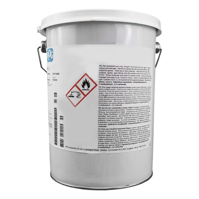 PPG Desothane HS Light Admiralty Grey Matt Polyurethane Paint 3Lt Tin