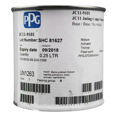 PPG JC11 Celloseal QH 250ml PPG-DTD900/4549 NSN 8030-99-220-1306