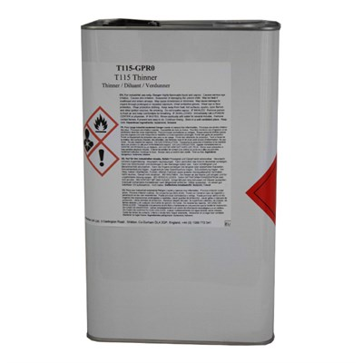 PPG T115 Poly Thinners 5Lt