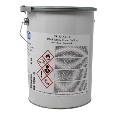 PPG PR143 Epoxy Primer Yellow 5Lt Tin *BS2X33B *MSRR 9064