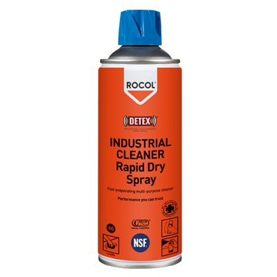 Rocol Industrial Cleaner Rapid Dry Spray 300ml Aerosol Can