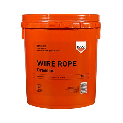 Rocol Wire Rope Dressing 18Kg Drum