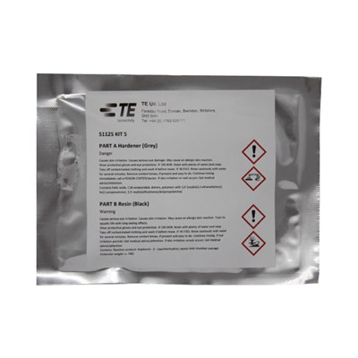 TE-Connectivity (was Raychem) S1125 Kit5 Two Part Epoxy Paste (Pack of 1 x 10gm Sachet)
