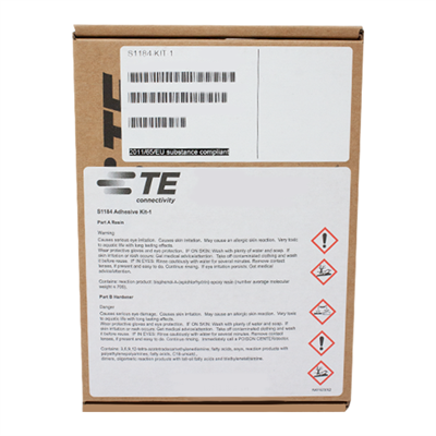 TE-Connectivity (was Raychem) S1184 Kit1 Two Part Electronically Conductive Epoxy 2 x 20ml Syringe