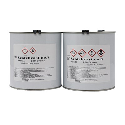 3M Scotchcast No.8 Electrical Epoxy Liquid Resin 500gm A/B Kit