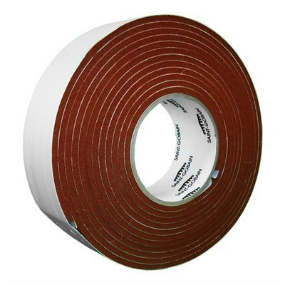Saint Gobain Strip-N-Stick 200A Silicone Sponge Tape 4.5m x 4.76mm (3/16