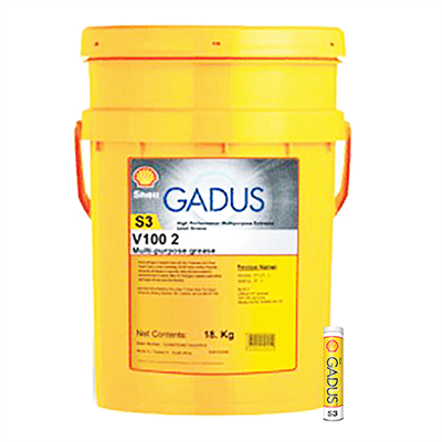 Shell Gadus S3 V100 2 in various sizes
