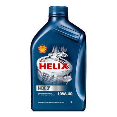 Shell Helix HX7 10W-40 1Lt Bottle