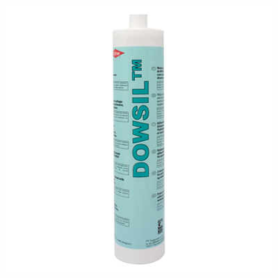 Dow Corning 3165 RTV Grey Fast Tack Adhesive Sealant 305ml Cartridge