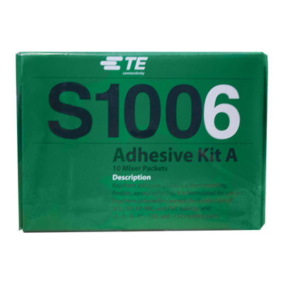 TE-Connectivity (was Raychem) S1006 KitA Two Part Paste Adhesive (Pack of 10 x 3gm Sachets) *A-A-56031