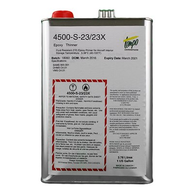 Tempo 4500-S-23/23X Epoxy Reducer 1USG Can *DHMS.C4.01 *BAMS 565-001
