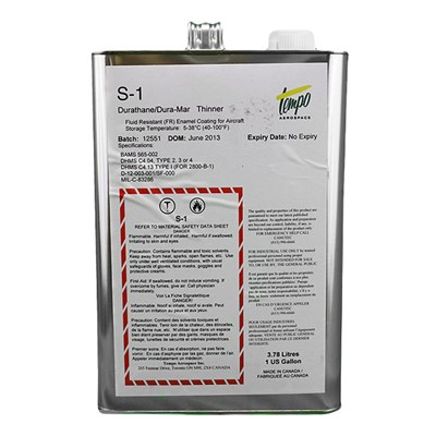 Tempo 4600-S-1 Durathane Reducer 1USG Can *DHMS.C4.04 Type 2